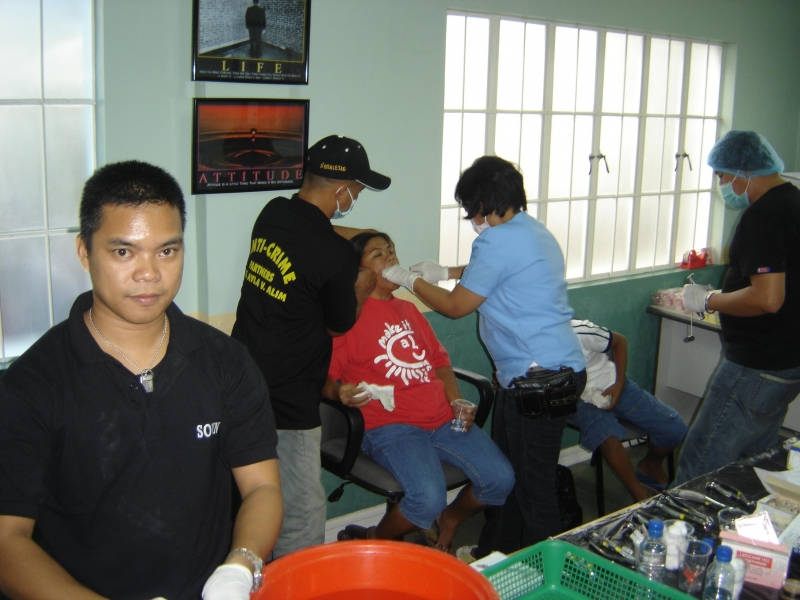 Med Mission with the Phil Marines Nov 22,2008 Quezon City