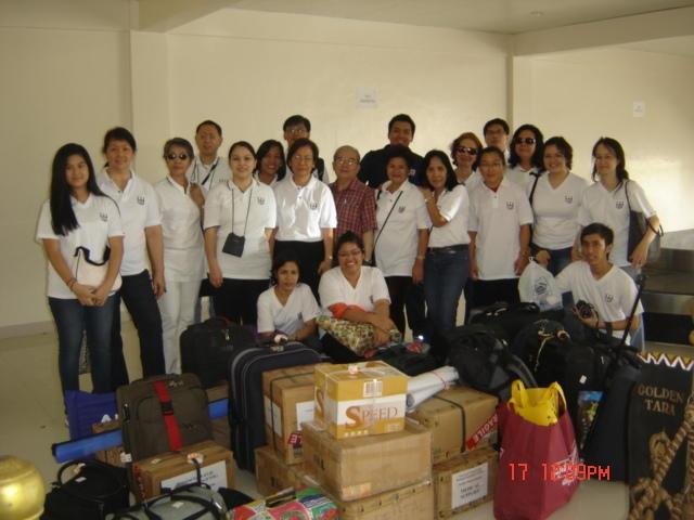 Arrival UTOL Medical Team Butuan City Airport