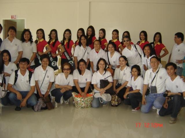 Butuan Airport with Mutya ng Butuan ladies