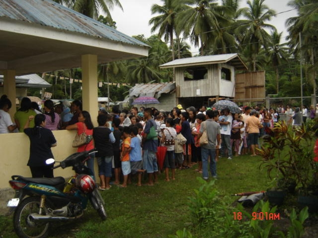 Patients Queing for registration