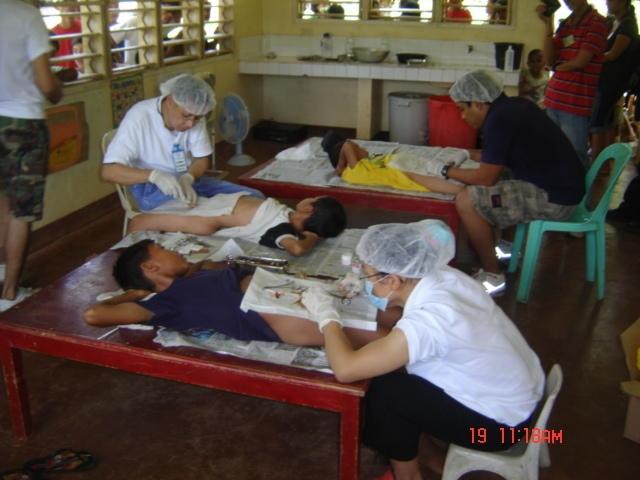 Patients undergoing Circumcision