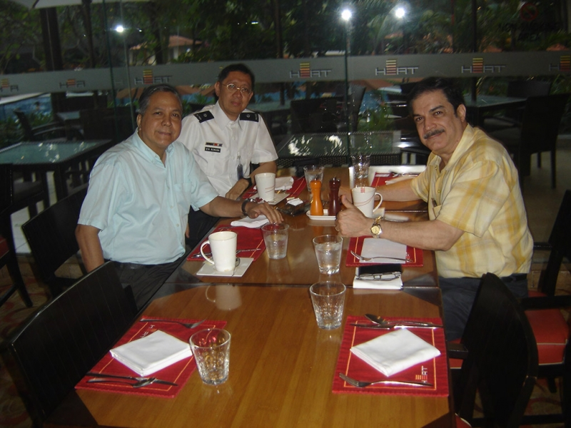 Meeting at Shangrila Hotel, Manila
