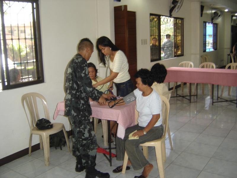 Medical Mission With the Philippine Marines Quezon City