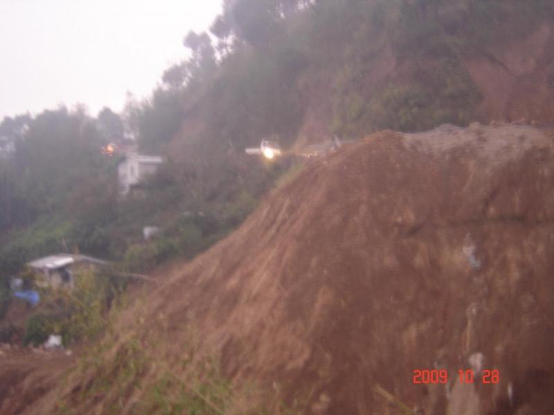 Baguio Benguet La Trinidad Mudslide