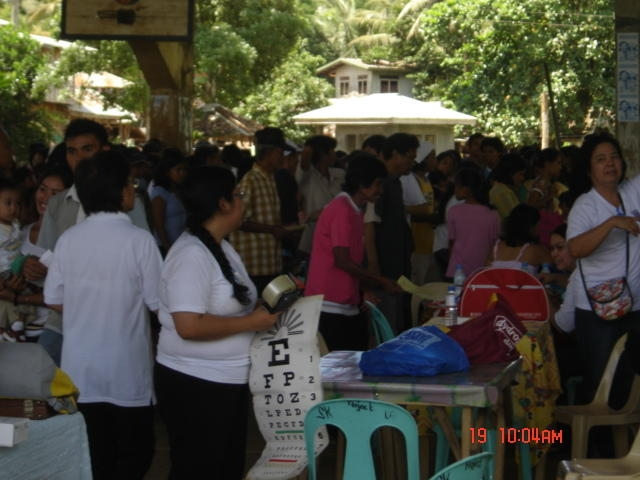 Patients at San Mateo Butuan