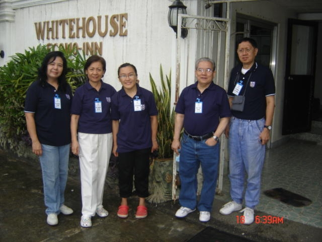 UTOL Medical Team at l White House Inn