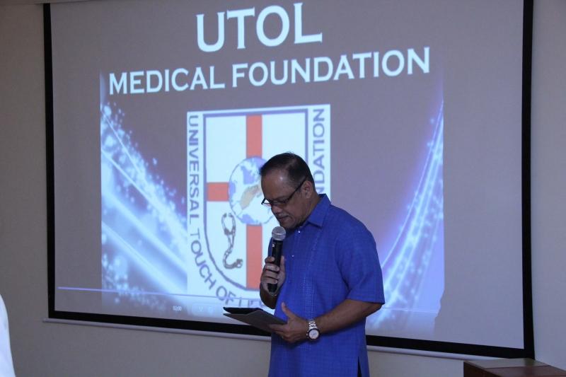 Thanksgiving Prayer Pastor Bengie Masiglat FCC Abu Dhabi, United Arab Emirates